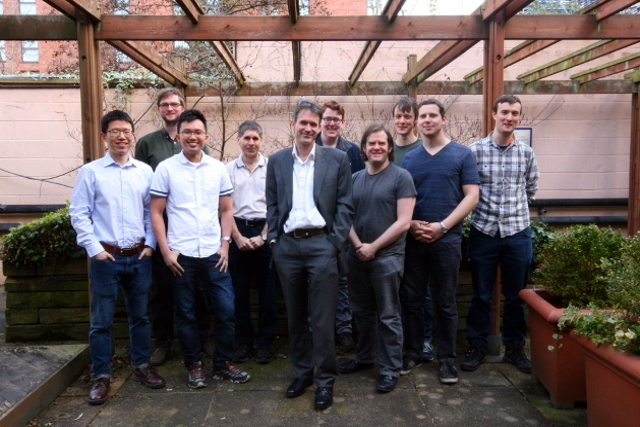 Sensor Systems Group Photo